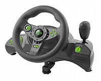 Игровой руль для  ПК  ESPERANZA EGW 102 руль с педалями икоробкой передач для компютера.