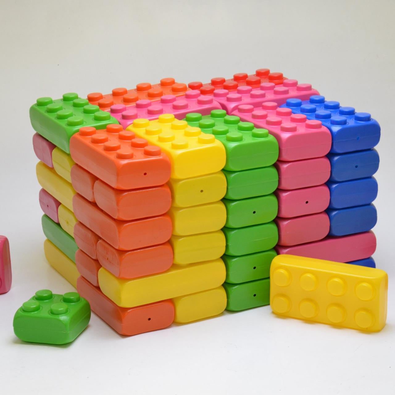 Кубики пластиковые большие 40шт