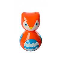 Детская Игрушка-Погремушка-Неваляшка Cute Toys, Оранжевый  (S162)