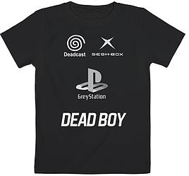 Детская футболка Bones / Sesh - DEADBOY Greystation Seshbox Deadcast (чёрная)