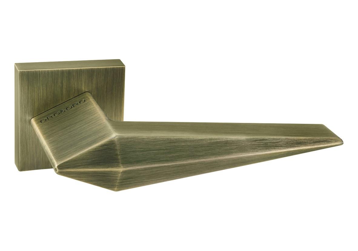 Ручки для дверей Oro&Oro 074-15E матова антична бронза