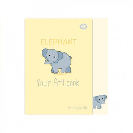 """Блокнот Profiplan """"Artbook elephant"""", A6, 902378, фото 2"""