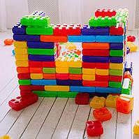 Детский конструктор пластиковые кубики