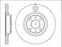 Тормозной диск передний FIAT DOBLO (119),LINEA (323) (2009г-Выпускается) ,пр-во ABE C3F005ABE, фото 1