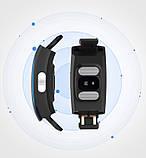 Умный фитнес браслет трекер Lemfo P3 Plus с ЭКГ и тонометром с защитой от пыли и влаги черный, фото 3