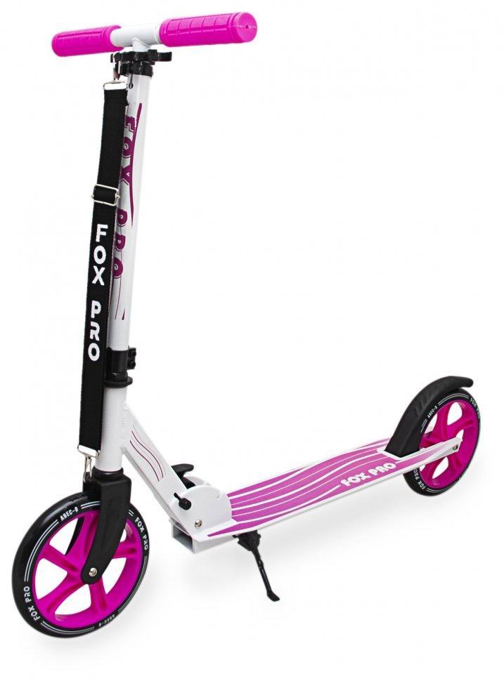 Двухколесный самокат Maraton Fox Pro розовый