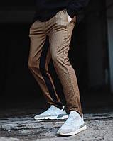 Брюки-чиносы мужские Dot коричневые
