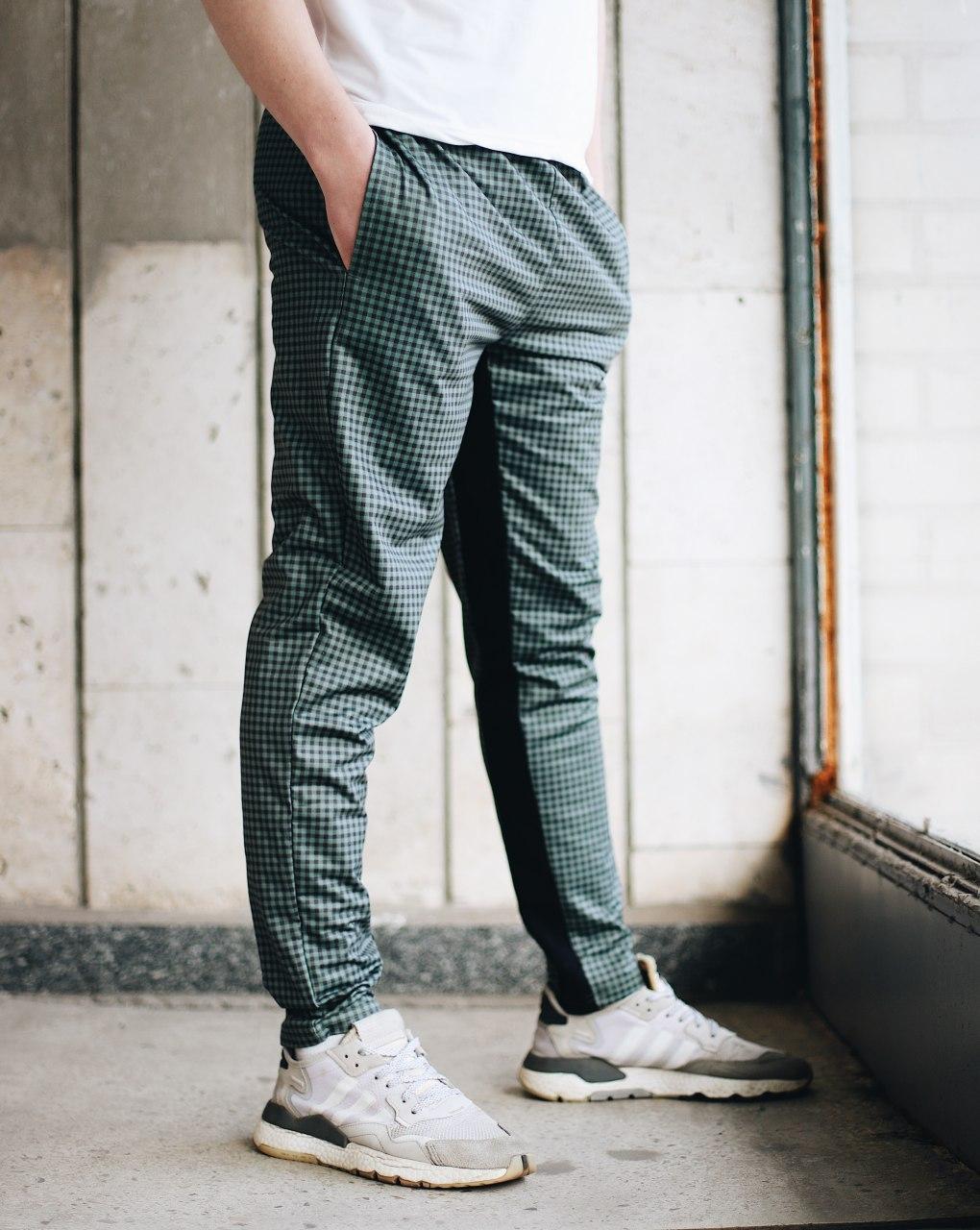 Брюки-чиносы мужские Dot зеленые