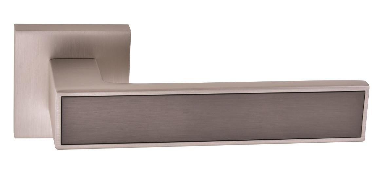 Ручки для дверей Oro&Oro 078-15E матовий нікель/ титан