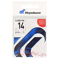 Крючок Hayabusa H.SDE198R №14 (10шт) (крючок № 14)