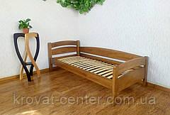 """Кровать односпальная из массива дерева от производителя """"Марта"""" (светлый дуб), фото 2"""