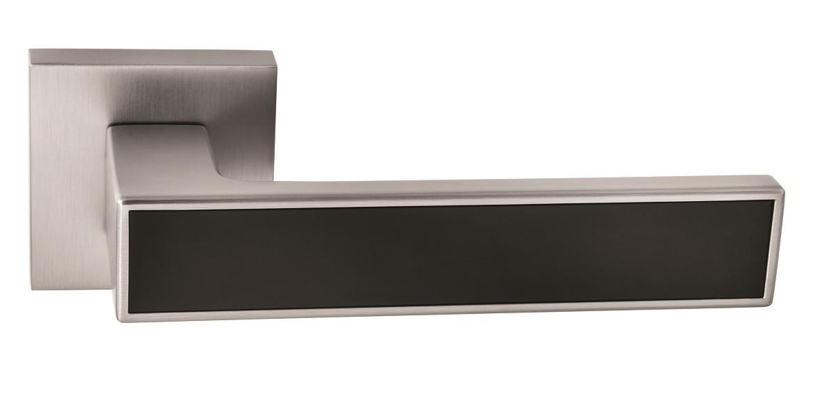 Ручка Oro&Oro 078-15E матовий нікель/ чорний матовий