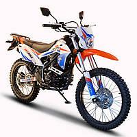Мотоцикл Skybike CRDX 200 (21-18) Бело-оранжевый, фото 1
