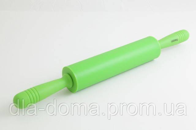 Скалка для теста с силиконовым покрытием 31 см