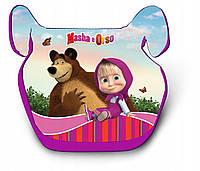 Бустер автокресло детское 15-36 кг Маша