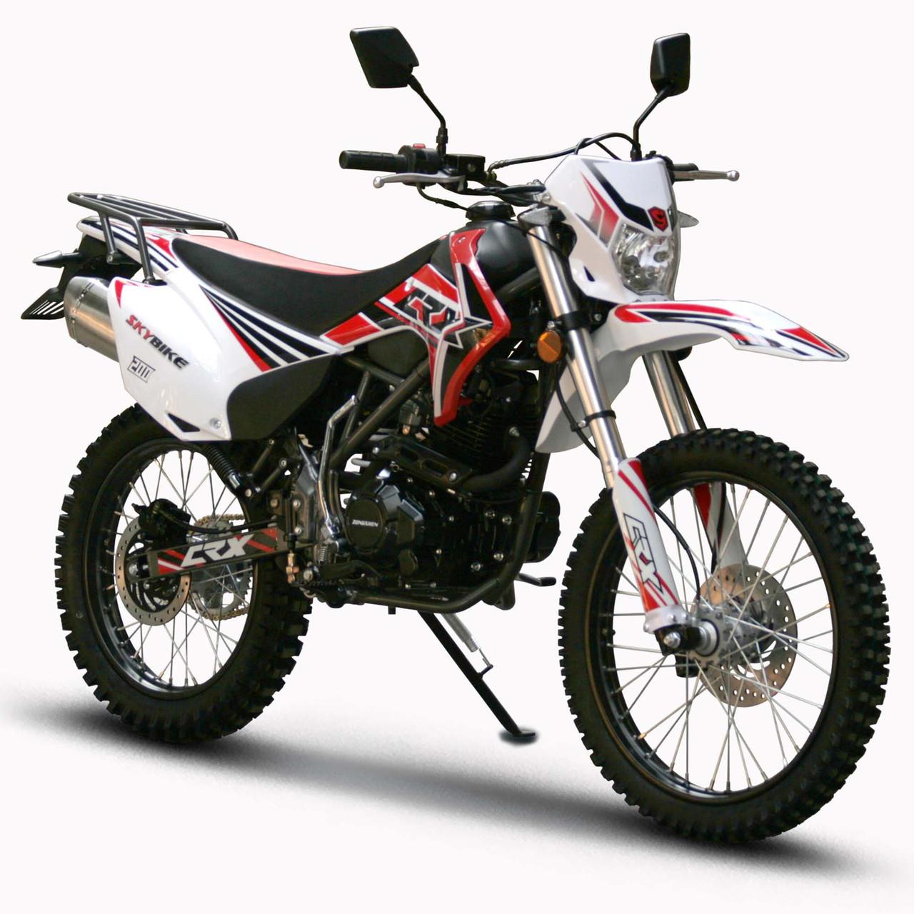 Мотоцикл Skybike CRX 200 (21-18) Черно-красный