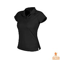 Футболка поло женская Helikon-Tex® Women's UTL® Polo Shirt TopCool Lite - Black