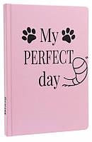 Блокнот с котом Хвост и Усы Diary My perfect day недатированный русский язык Розовый