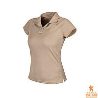 Футболка поло женская Helikon-Tex® Women's UTL® Polo Shirt TopCool Lite - Khaki