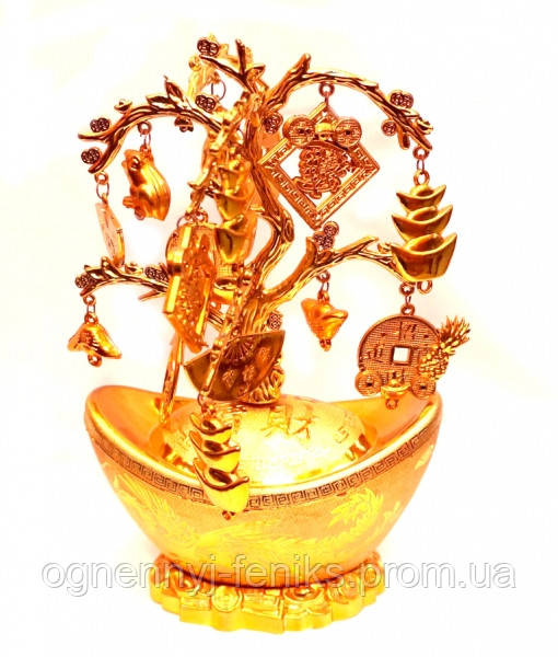 Дерево богатства 22,5х14,5х8см.  - Огненный Феникс в Одессе
