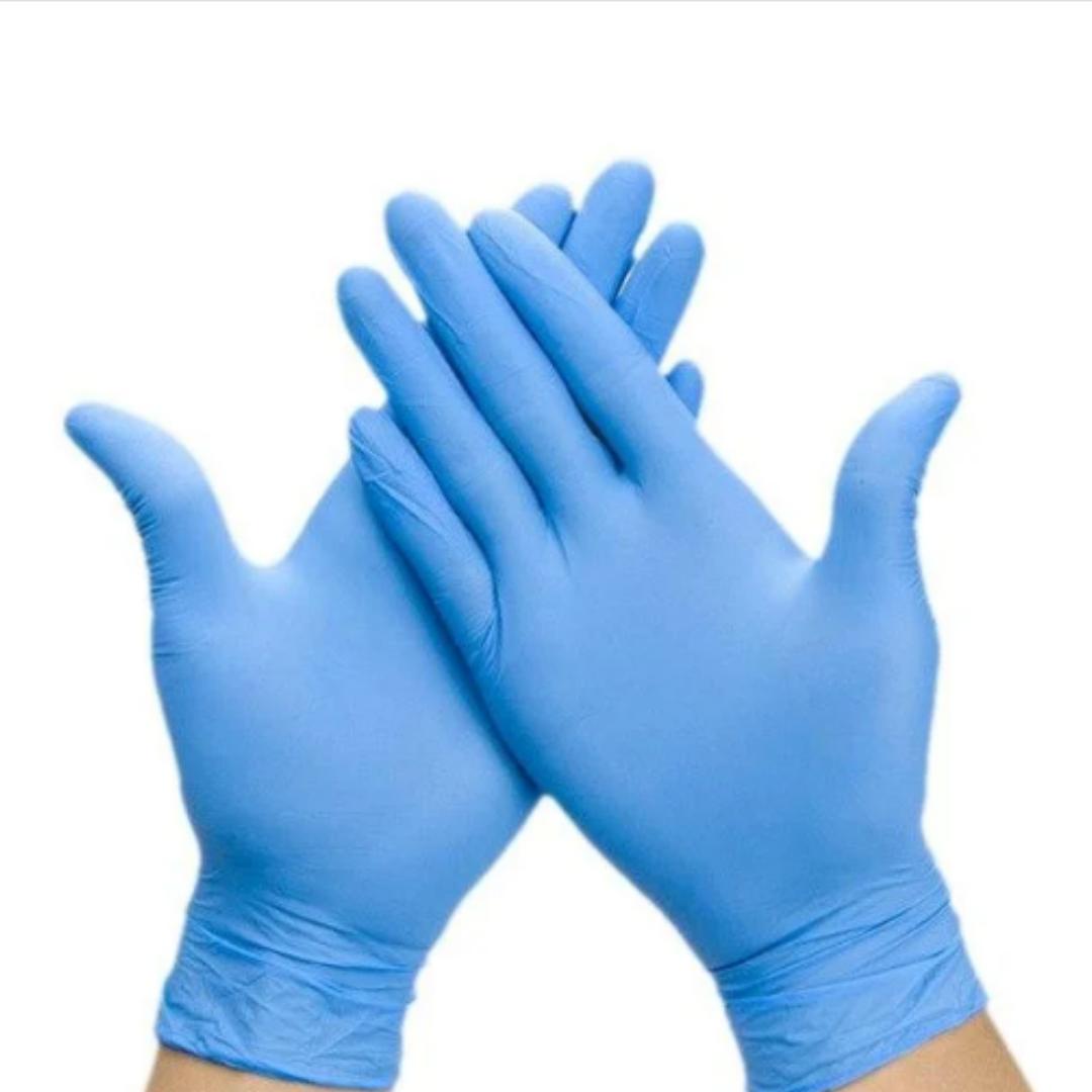 Перчатки медицинские латекс М/100/ 7% Sanitary Care  /10 ящ/