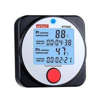 Термометр для гриля (мяса) 2-х канальный WINTACT WT308A с Bluetooth