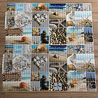 Пластиковая Панель Регул Морской берег 956*480 мм