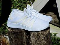 Белые Летние Кроссовки со шнуровкой женские р.38,39,40,41, фото 1