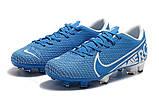 Бутсы Nike Mercurial Vapor XII FG blue, фото 3