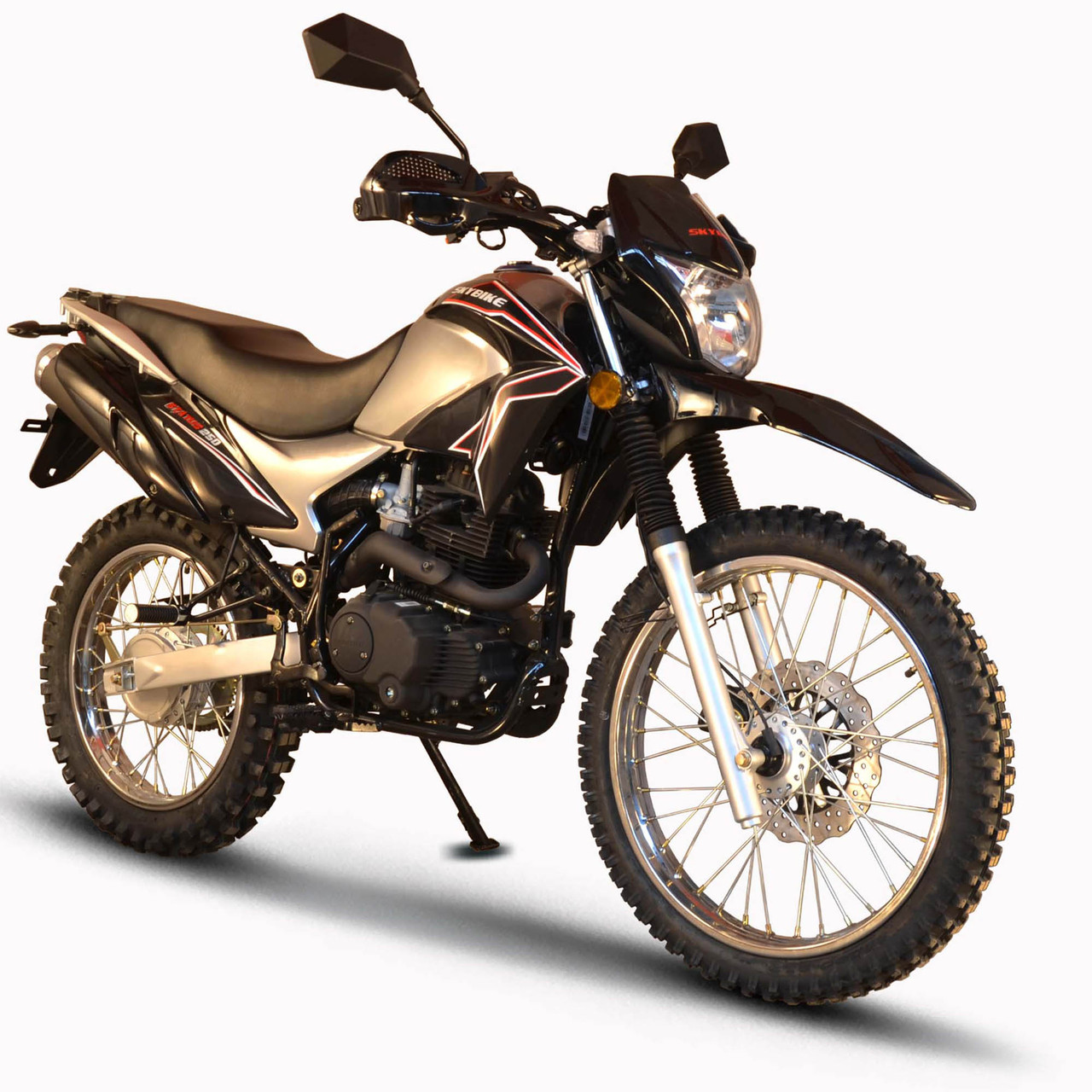 Мотоцикл SkyBike STATUS 200 B Черный