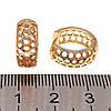Серьги Xuping из медицинского золота, позолота 18К, 24308       (1), фото 3