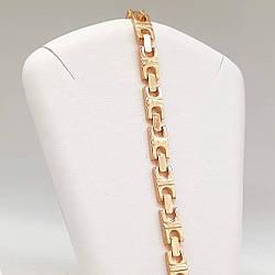 "Браслет Xuping ""Lady style"" из медицинского золота, позолота 18K, 52049       (19.5 см)"