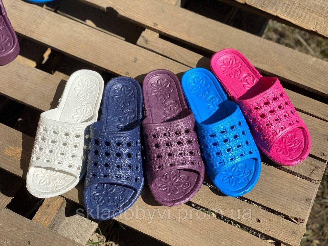 Літні шльопанці жіночі оптом Крок С19