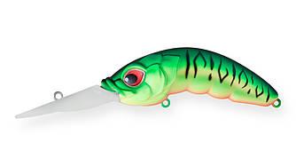 Воблер Strike Pro Hunhback Deep 80L Плавающий 8cm 22gr Загл. 4-7м #GC01S