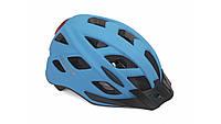 Шлем Author - Pulse LEDX8, размер 58-61 см, цвет: неоново синий