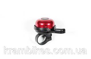 Звонок на руль CSC - Quadro, красный