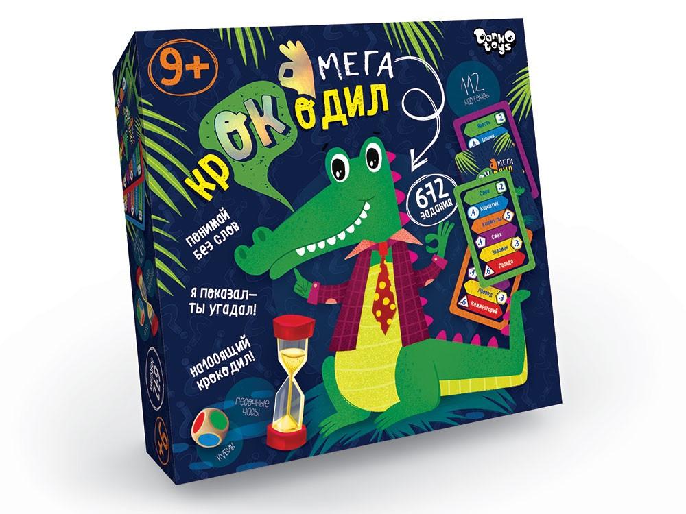 """Игра настольная Danko Toys """"Мега Крокодил"""" (Рус) (CROC-03-01)"""