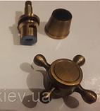 Ручки (вентилі) для змішувача бронза 7-052, фото 2
