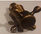 Ручки (вентилі) для змішувача бронза 7-052, фото 3