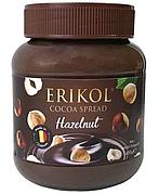 Шоколадна Паста Erikol Hazelnut Фундук 400 гр