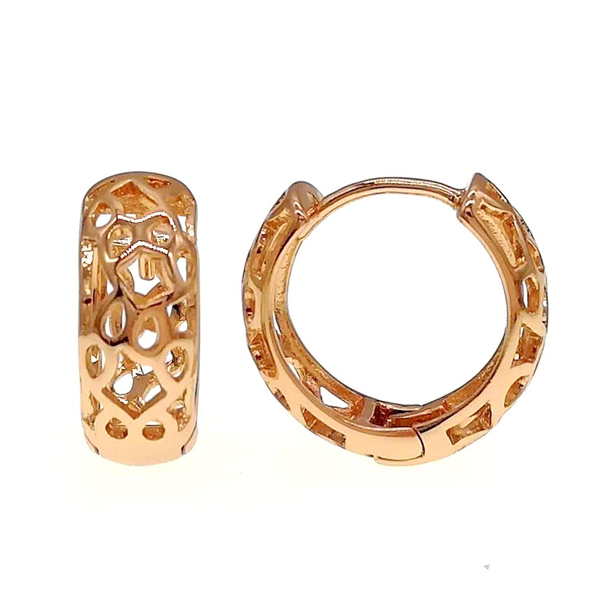 Серьги Xuping из медицинского золота, позолота 18К, 24306       (1)