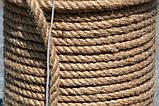 Канат джутовий д. 8мм(100м), фото 2