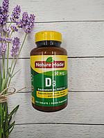 Nature Made Vitamin D3 400 tab 2000IU, витамин Д 3 США, фото 1