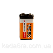 Батарейка Videx Крона, 6F22 9V