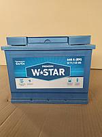Аккумулятор W STAR Premium 62Ah (-/+) (640EN) (д242*ш175*в190) westa(веста)