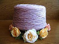 Итальянский бобинный Твид от Filati Italia art Rosa 50% Меринос, 50% Дралон. 160 м/100 гр. Розовый