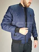 Куртка демисезонная пилот синий 46р