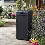 Контейнер для сміття Keter Baltimore Waste Bin 125 L, фото 2