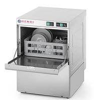 Посудомоечная машина с дозатором моющего и насосом 50x50 HENDI 233054