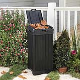 Контейнер для сміття Keter Baltimore Waste Bin 125 L, фото 4